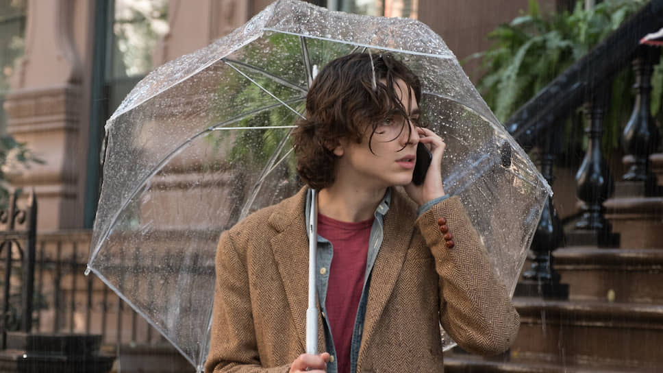Кадр из фильма Вуди Аллена «Дождливый день в Нью-Йорке»