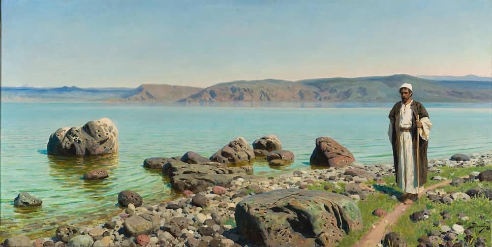 «На Тивериадском (Генисаретском) озере». 1888 год
