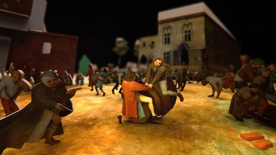 «Обреченные играть» созданы по мотивам картины Брейгеля-старшего