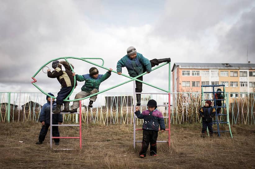 В интернате для детей оленеводов в воркутинском поселке Воргашор больше 50 детей