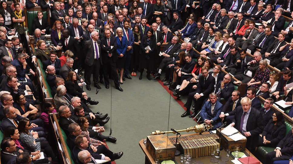 Каждое парламентское заседание — это новое испытание для премьер-министра Бориса Джонсона