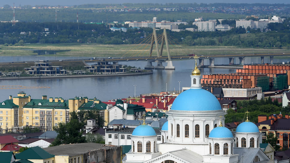 Казанский собор Богородицкого монастыря в Казани