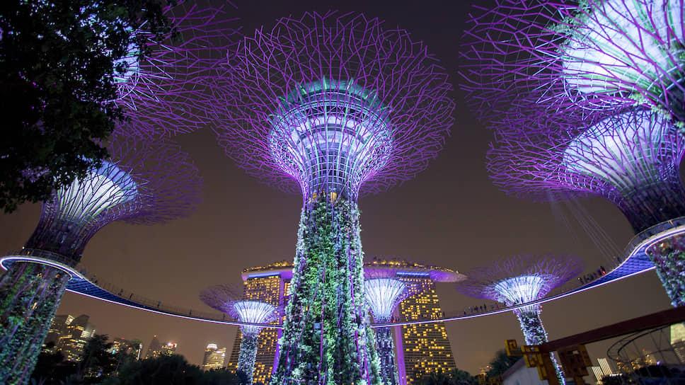 Сингапурские вертикальные сады