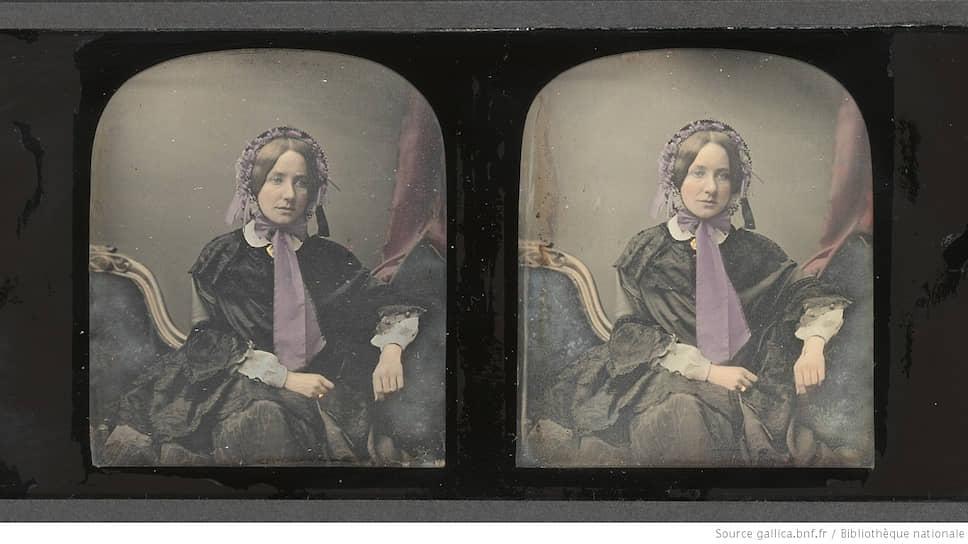 Стереофотография Антуана Клоде. «Без названия». 1852–1858 годы.