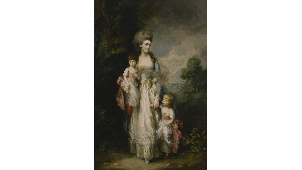 «Миссис Элизабет Муди с сыновьями Самуилом и Томасом». Около 1779 года
