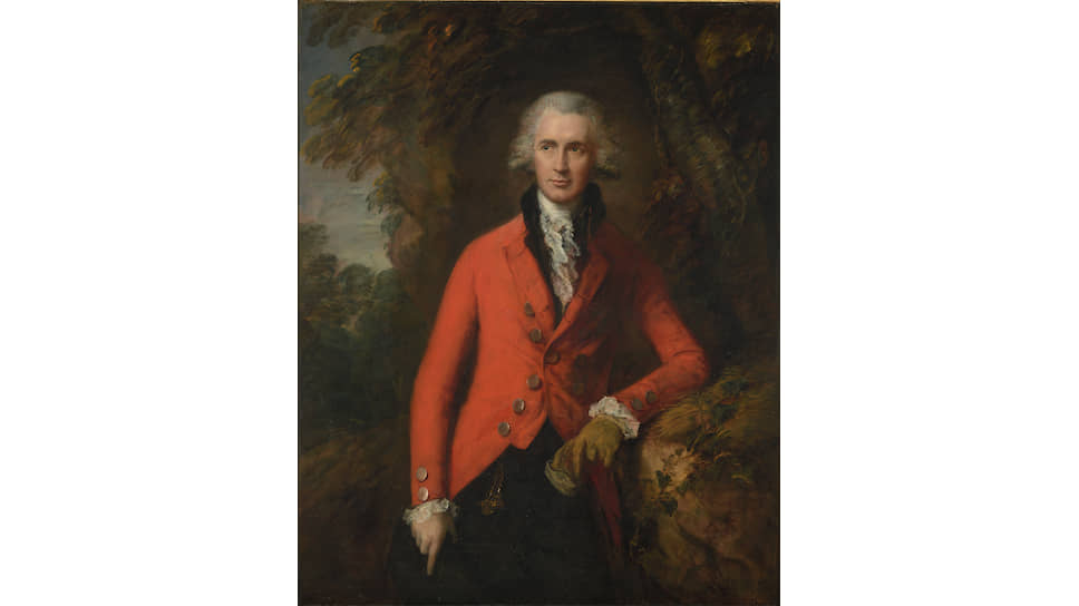 «Портрет Томаса Хибберта». 1785 год