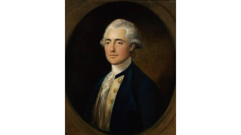 «Портрет капитана британского флота Джона Уитмора Четвинда». Около 1785 года