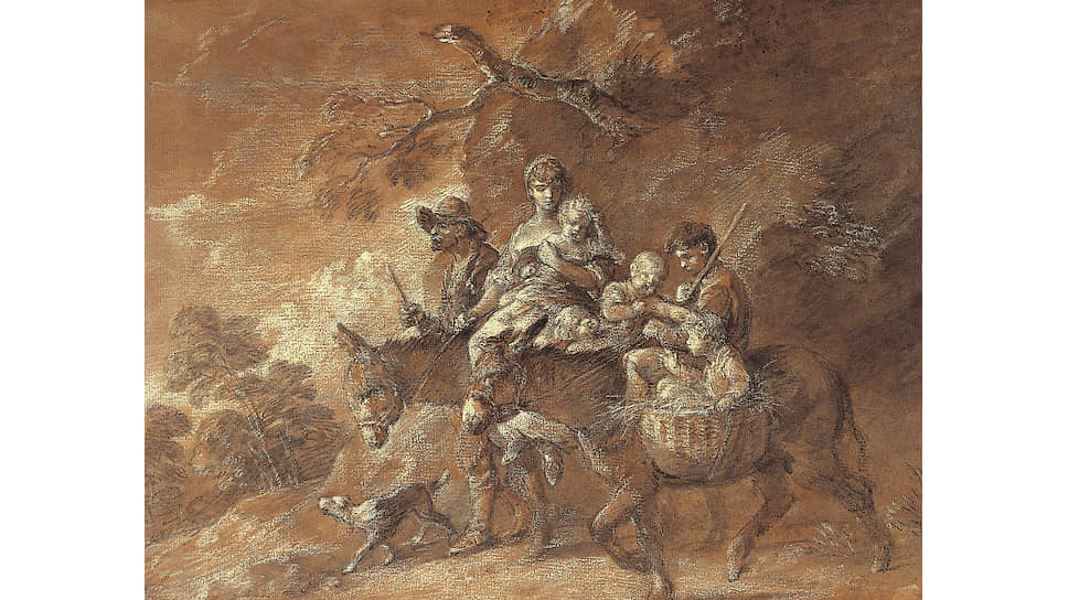 «Крестьяне, едущие на рынок», 1770-1774 годы