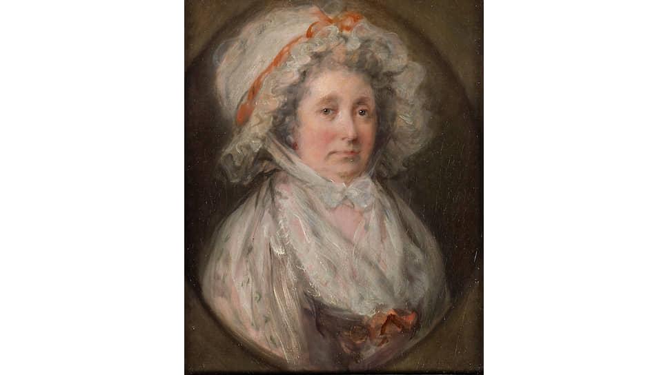 «Портрет Маргарет Гейнсборо». Около 1785 года