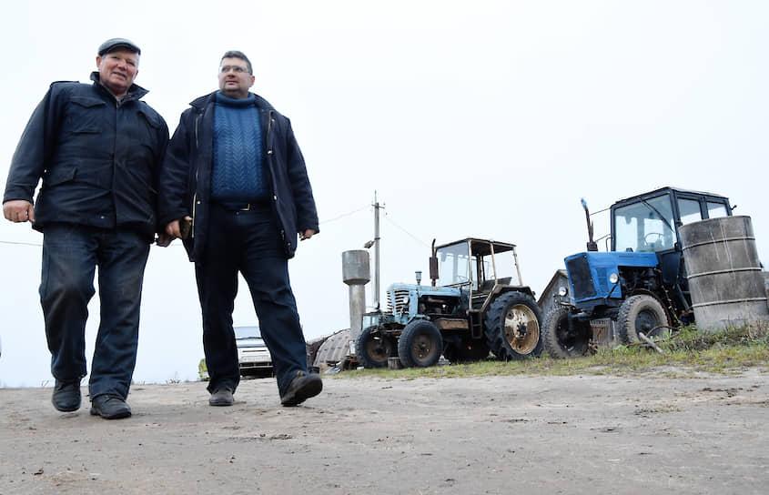 Алексей: «Я выигрывал грант как начинающий фермер, в прошлом году мы получили грант как семейная животноводческая ферма»