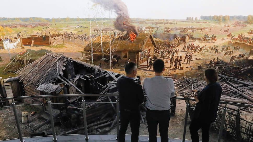 Панорама Бородинской битвы вскоре будет отреставрирована