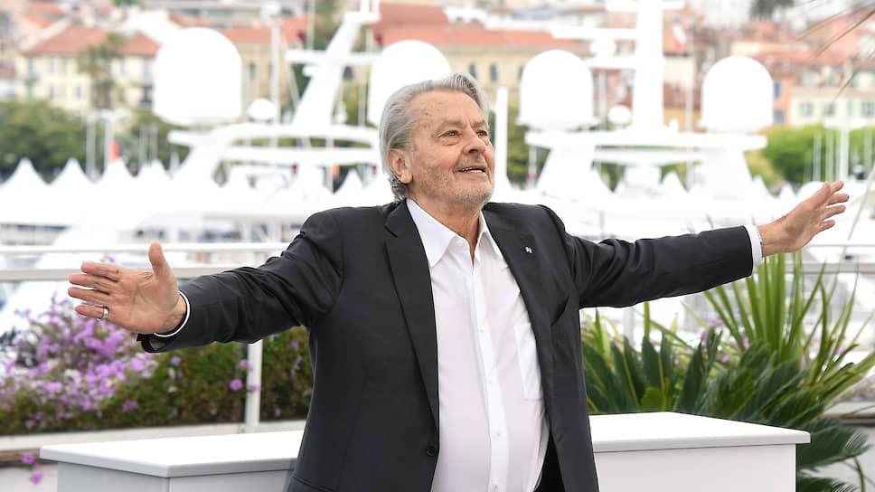 85-летний Ален Делон остается символом европейского кино