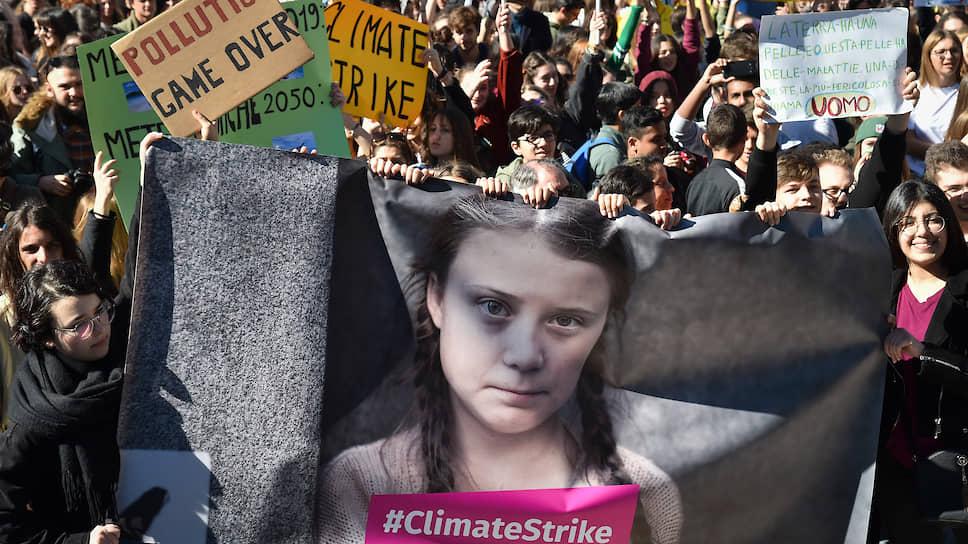Для экоактивистов неистовая Грета Тумберг стала почти иконой