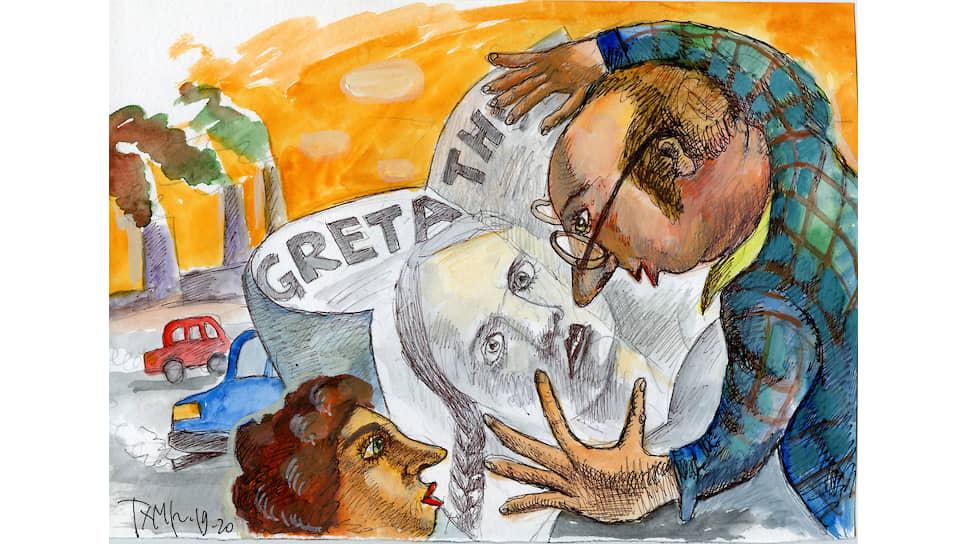 Иллюстрация художника Виктора Тихомирова к песне Александра Городницкого «Дорогая Грета»
