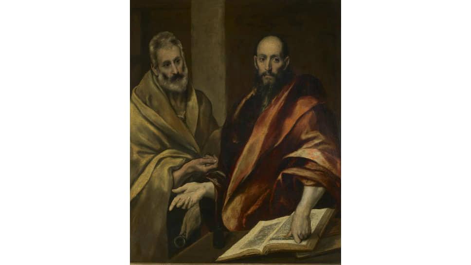 Эрмитажные «Апостолы Петр и Павел» до марта будут на выставке в культурном фонде Альды Фенди (Рим)