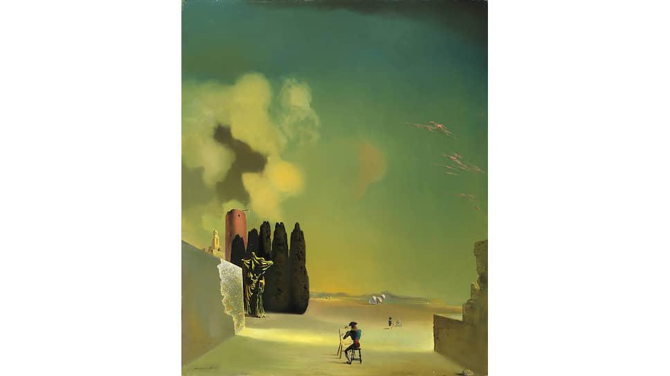 «Пейзаж с загадочными элементами». 1934 год