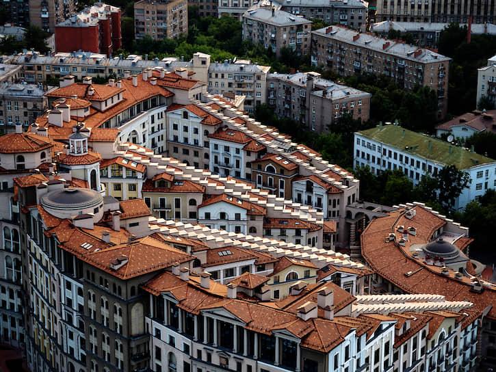 Жилой комплекс «Итальянский квартал» в центре города