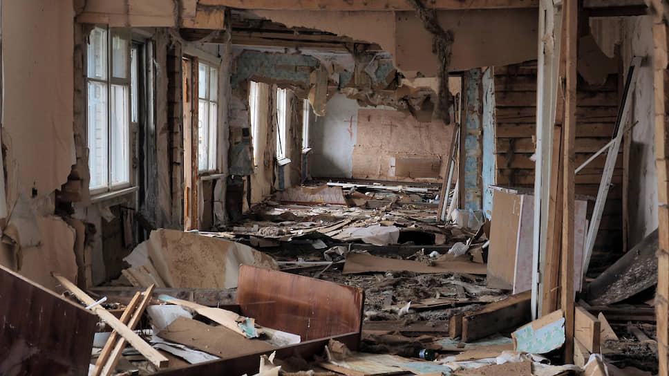 На Сладком много заброшенных домов