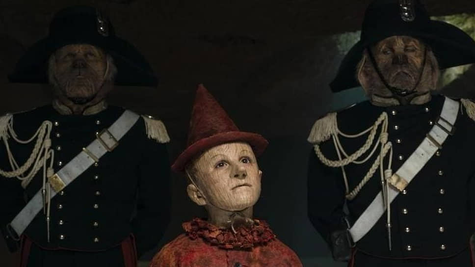 Режиссер стремился, чтобы Пиноккио выглядел именно как деревянный человечек, а не как ребенок