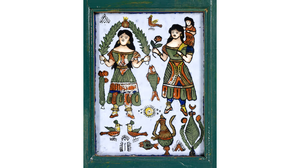 Эта ширма — каталог татуировщика. Северная Африка и Ближний Восток. XIX век