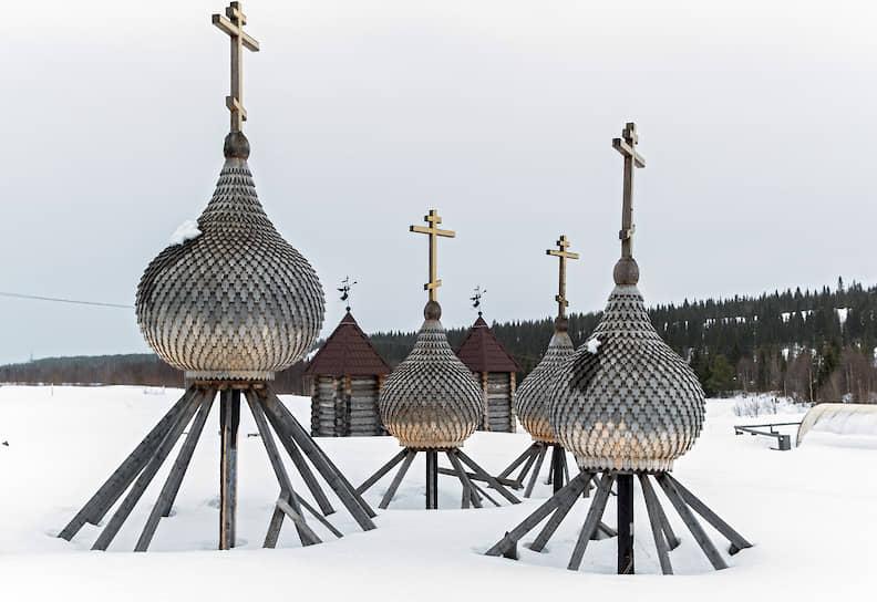 Реставрация куполов Никольской церкви