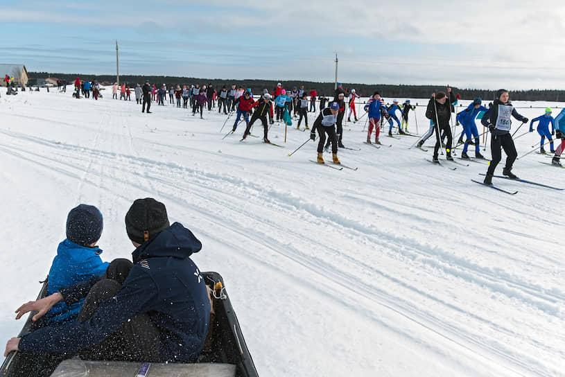 Лыжи здесь любят все
