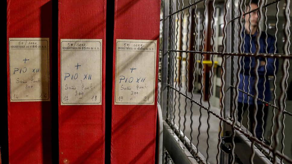 Папки из архива папы Пия XII считались одним из главных секретов Святого престола. С марта 2020-го они доступны исследователям
