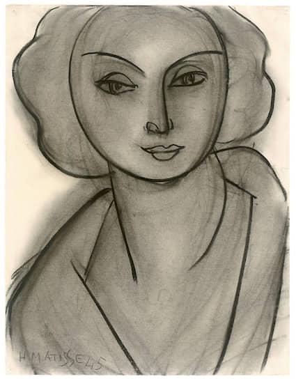 Анри Матисс. «Женский портрет (Л.Н. Делекторская)». 1945 год