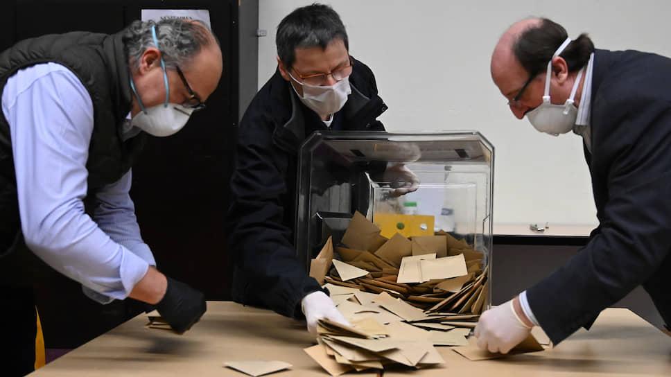 Как во Франции голосуют во время пандемии
