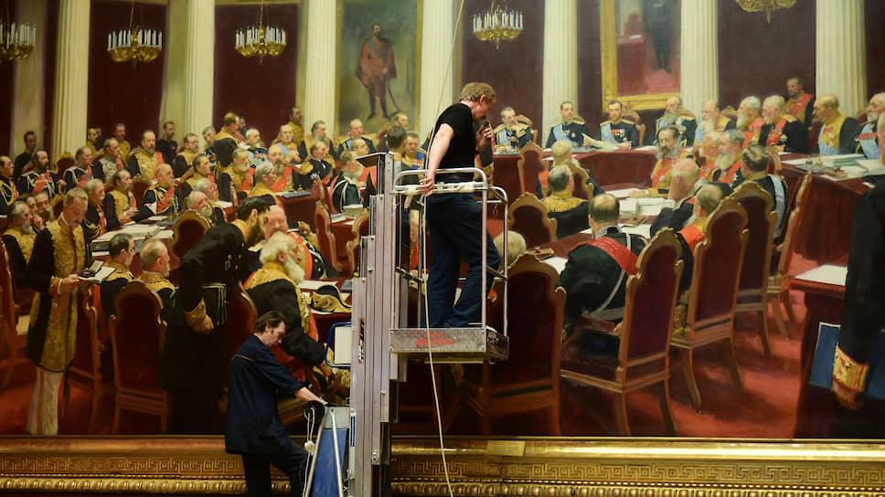 «Заседание Госсовета» Репина — один из символов Русского