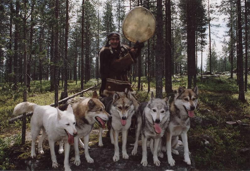 Упряжка — традиционное средство передвижения ительменов, а собаки — практически члены семьи
