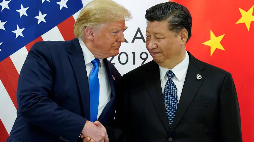Отношения США и КНР закономерно перешли от формальных рукопожатий к форменному к армрестлингу