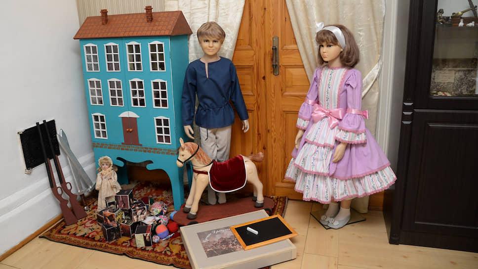 Детскую комнату в музее обустроили по воспоминаниям братьев Верещагиных