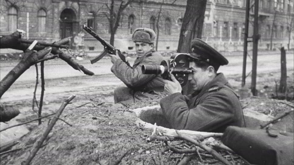 Оператор Семен Стояновский. 1945 год