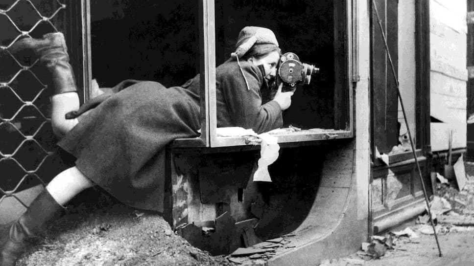 Оператор Оттилия Рейзман. 1945 год