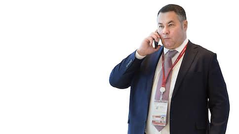 Игорь Руденя, губернатор Тверской области  / Принципиальный