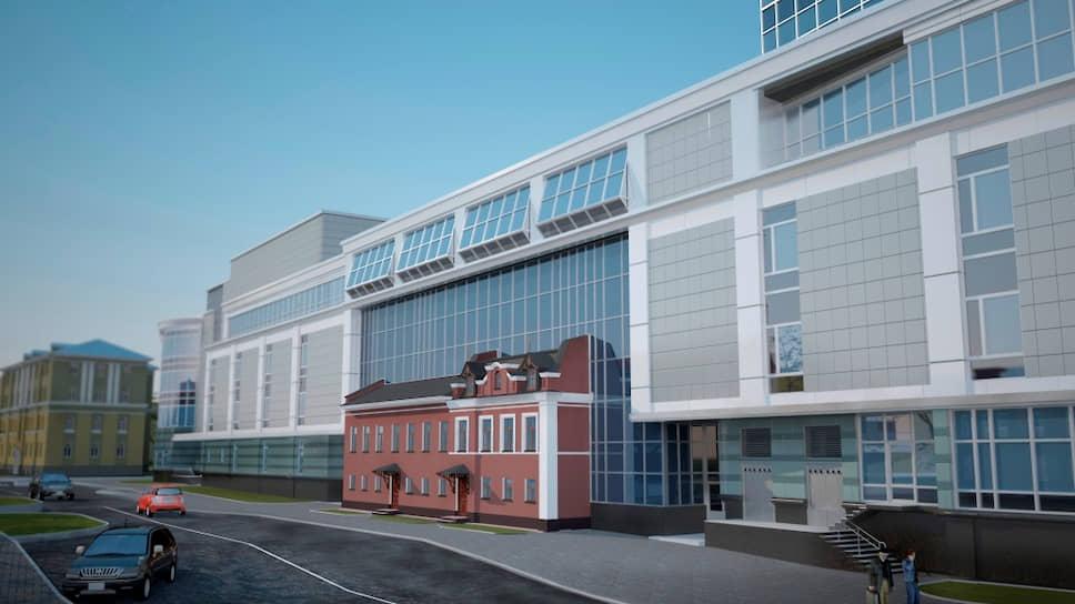 Так будет выглядеть воссозданный купеческий дом в Архангельске — его встроят в торговый комплекс