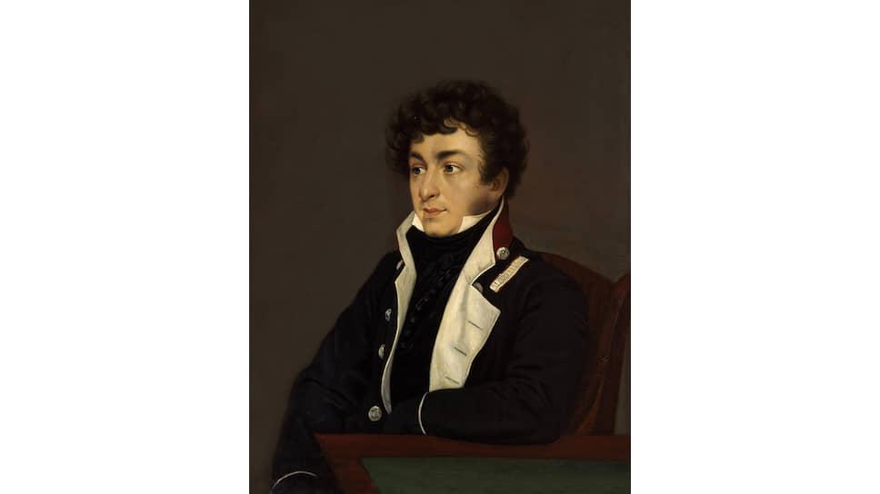 Орест Кипренский. «Портрет Константина Батюшкова». 1815 год