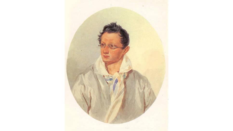 «Портрет Александра Николаевича Раевского». 1820-е. Художник неизвестен