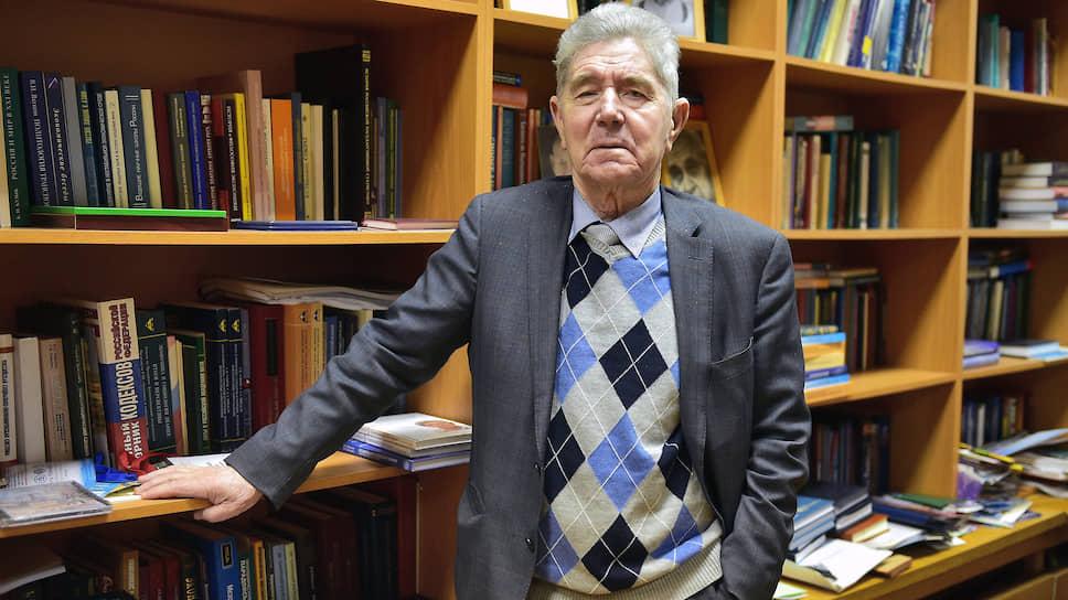 Валерий Макаров, научный руководитель Центрального экономико-математического института, академик РАН