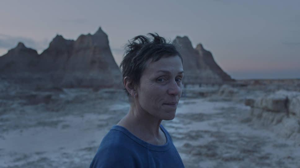 «Земля кочевников», режиссер Хлоя Чжао. 2020 год