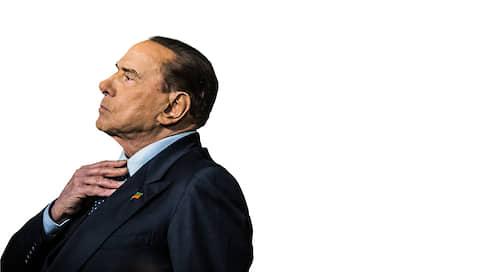 Сильвио Берлускони, лидер партии «Вперед, Италия!»  / Бессимптомный