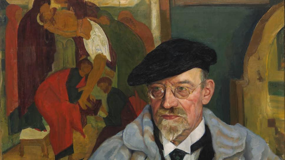 Михаил Вербов. «Портрет И.С. Остроухова». 1924 год
