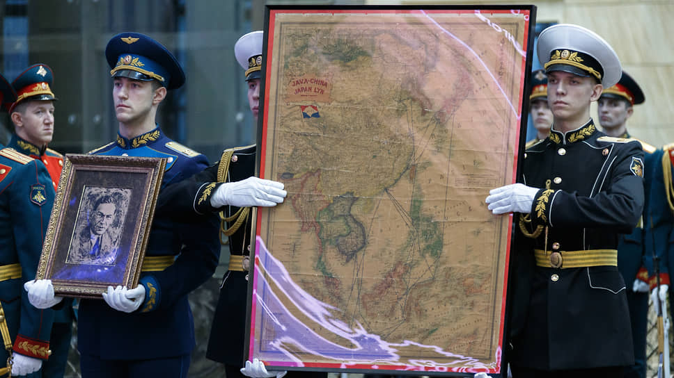 Карта, принадлежавшая Зорге, уцелела чудом. Теперь этот артефакт передан музею Главного управления Генштаба Вооруженных сил РФ в Национальном центре управления обороной
