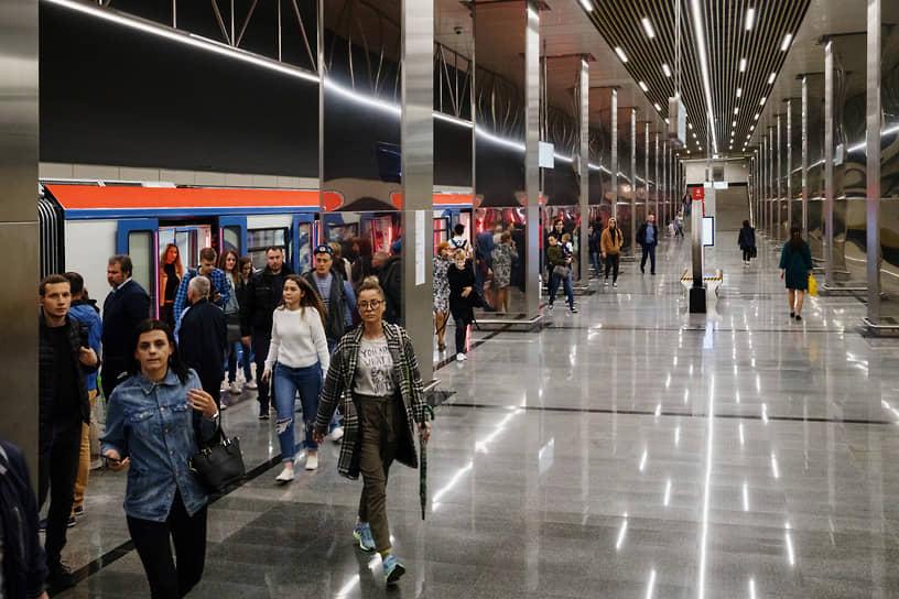 Станция «Косино» Некрасовской линии открыта в июне 2019-го