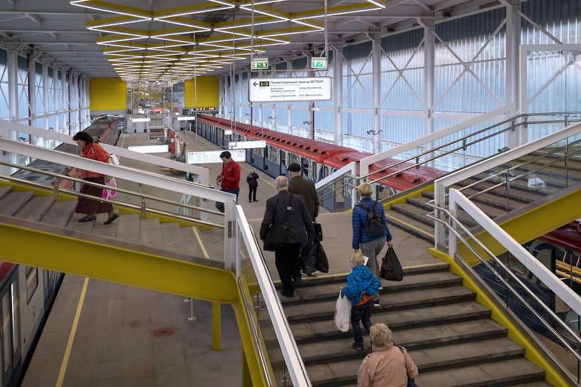 Станция «Филатов луг» Сокольнической линии. Открыта в июне 2019-го