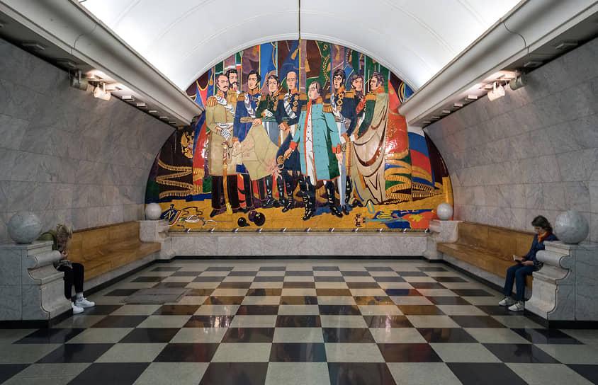 Станция «Парк победы» Калининско-Солнцевской линии