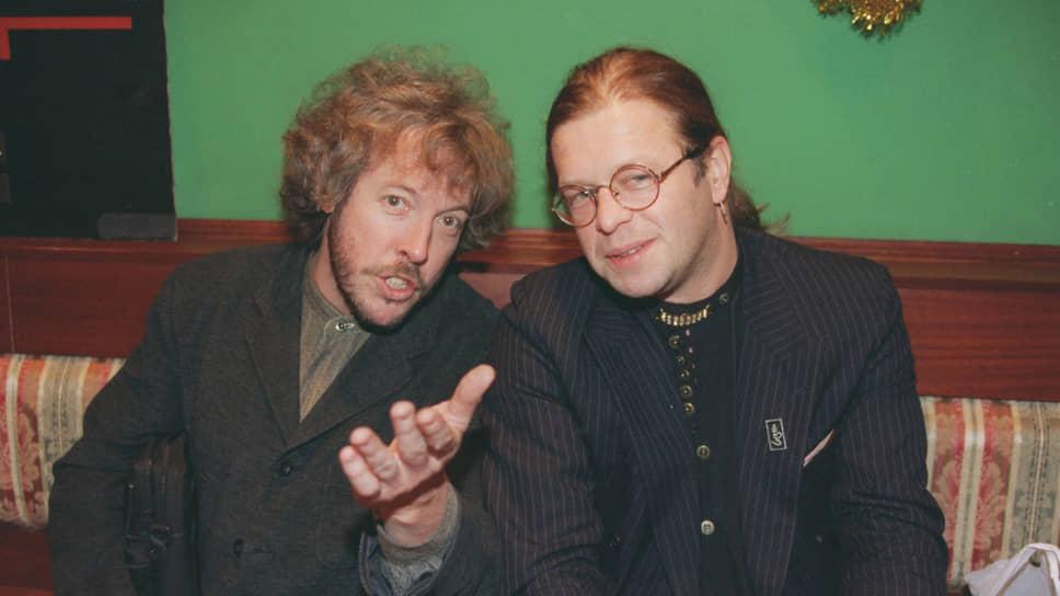 Андрей Макаревич и Борис Гребенщиков в 1996 году дали уникальный совместный концерт «20 лет спустя»