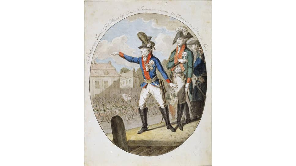 Фельдмаршал Суворов у стен Варшавы в 1794 году. Об этом эпизоде не любят вспоминать в Польше. Но с недавних пор отчего-то предвзято относятся к русскому полководцу и в Белоруссии
