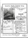 Билет на «Императрицу», дававший право проезда от Норвегии до провинции Альберта в центре Канады. Из более 117 тысяч иммигрантов, перевезенных «Императрицей» в Канаду, каждый третий был выходцем из Скандинавии. Билет из архива Юнис Гулбраа